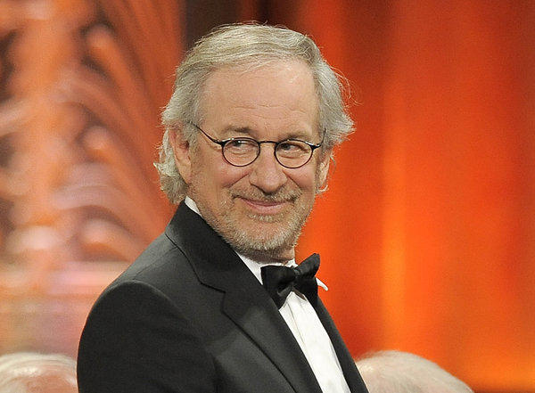 Steven Spielberg at the AFI Lifetime Achievement Award ceremony in June