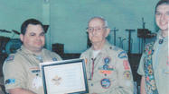 A Greencastle man is celebrating his 50th year as a leader with the Boy Scouts of America.