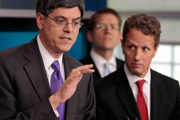 Experts say Jacob J. Lew's skills honed in many years in the nation's capital are what President Obama needs now for the coming budget fights, including a controversial increase in the debt ceiling. Above, Lew, left, with Treasury Secretary Timothy F. Geithner in September.