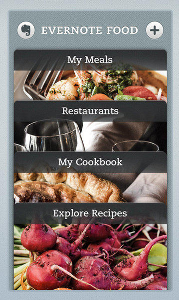 Evernote Food not only acts as a sort of foodie diary, it now can suggest restaurants and recipes and save your favorites to the app.