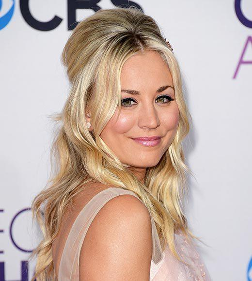 People's Choice Awards 2013: The Red Carpet: Kaley Cuoco