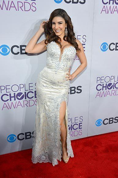 People's Choice Awards 2013: The Red Carpet: Model Mayra Veronica