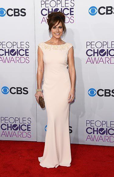 People's Choice Awards 2013: The Red Carpet: Nikki Deloach