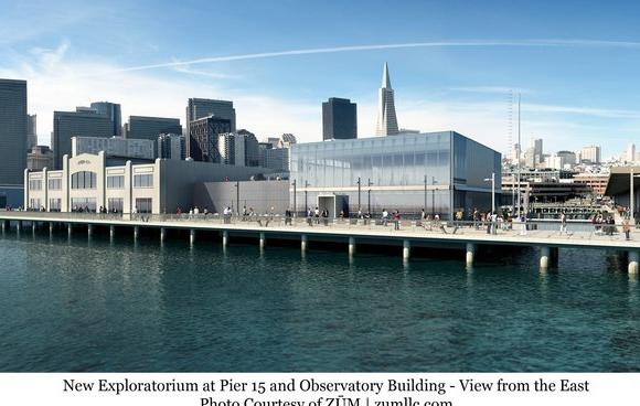 Rendering of new Exploratorium site