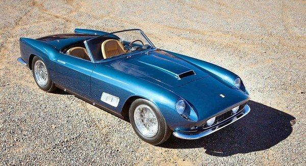 Thousands of vehicles will be auctioned off over the weeklong Arizona event. Auction firm Gooding & Co. estimates that a 1958 Ferrari 250 GT LWB California Spider, above, will go for $5.5 million to $7 million.