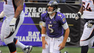 Ravens quarterback Joe Flacco insists he's not dwelling on one of the roughest sequences he's experienced since entering the NFL five years ago.