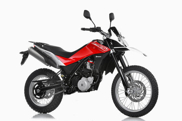 BMW shipped more than 106,000 motorcycles last year, up from 104,000 in 2011. Above, its Husqvarna TR650 Terra.