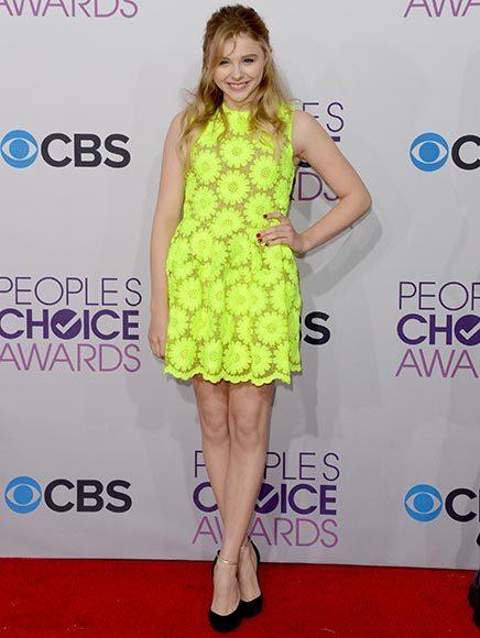 People's Choice Awards 2013: The Red Carpet: Chloe Grace Moretz
