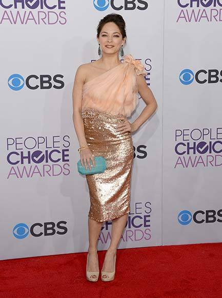 People's Choice Awards 2013: The Red Carpet: Kristin Kreuk