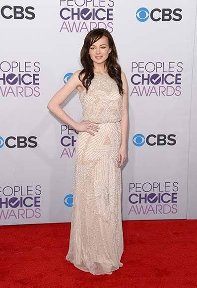 People's Choice Awards 2013: The Red Carpet: Ashley Rickards