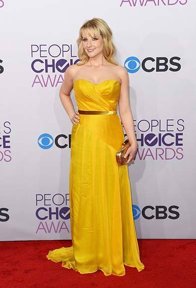 People's Choice Awards 2013: The Red Carpet: Melissa Rauch