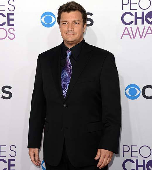 People's Choice Awards 2013: The Red Carpet: Nathan Fillion