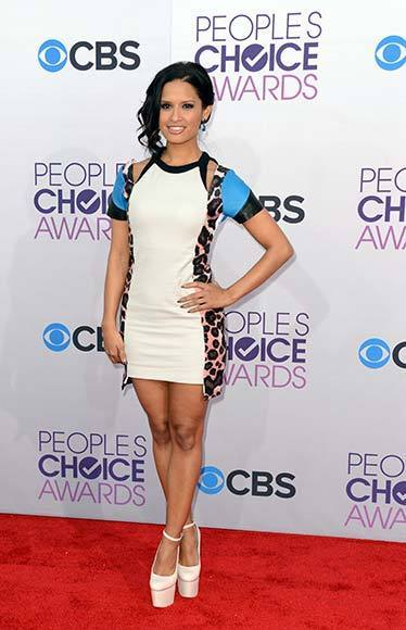 People's Choice Awards 2013: The Red Carpet: Rocsi Diaz