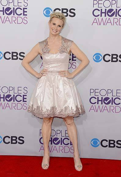 People's Choice Awards 2013: The Red Carpet: Monica Potter