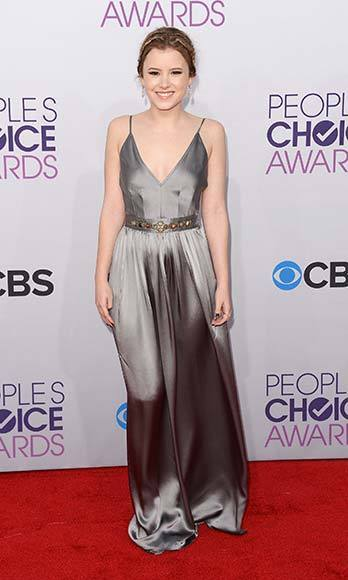 People's Choice Awards 2013: The Red Carpet: Taylor Spreitler