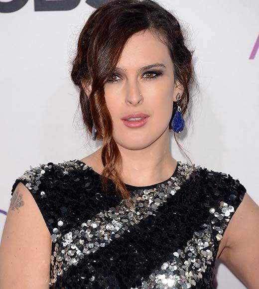 People's Choice Awards 2013: The Red Carpet: Rumer Willis