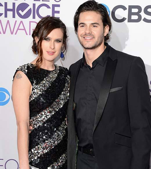People's Choice Awards 2013: The Red Carpet: Rumer Willis, Jayson Blair