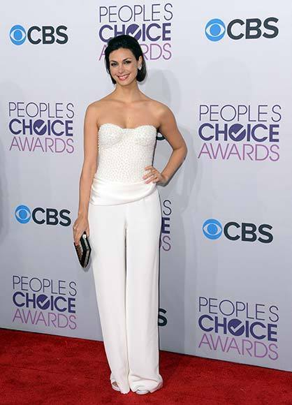 People's Choice Awards 2013: The Red Carpet: Morena Baccarin