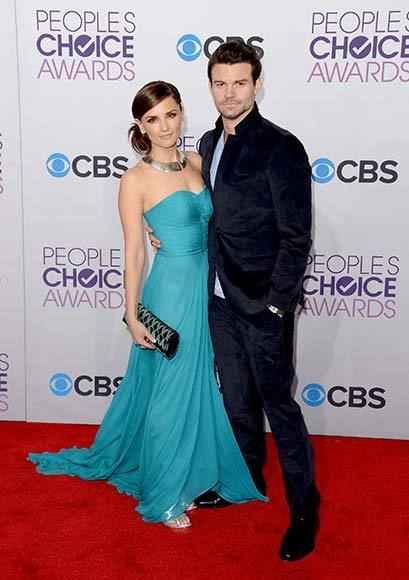 People's Choice Awards 2013: The Red Carpet: Daniel Gillies, Rachael Leigh Cook