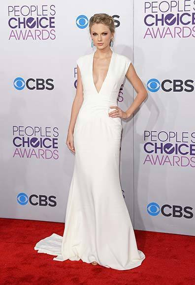 People's Choice Awards 2013: The Red Carpet: Taylor Swift