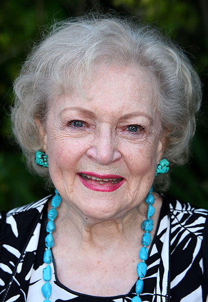 "Our favorite ""Golden Girl,"" Betty White, celebrates her 89th birthday today."