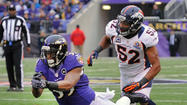 The Ravens endured a thorough beating the last time they faced the Denver Broncos, dominated in virtually every facet of the game.