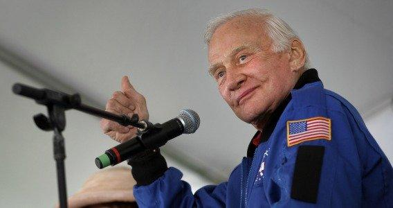 Hot Property: Buzz Aldrin