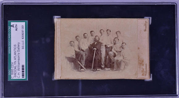Rare baseball card up for auction