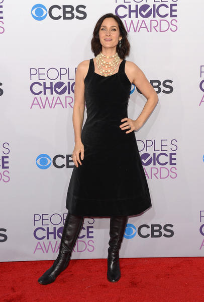 People's Choice Awards 2013: The Red Carpet: Carrie Ann Moss