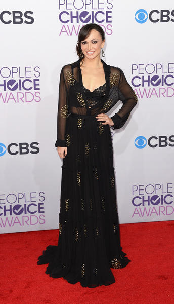 People's Choice Awards 2013: The Red Carpet: Karina Smirnoff