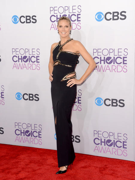 People's Choice Awards 2013: The Red Carpet: Heidi Klum