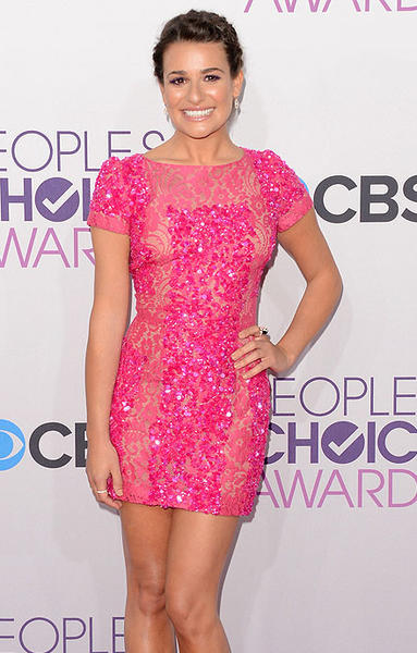 """Glee"" actress Lea Michele"