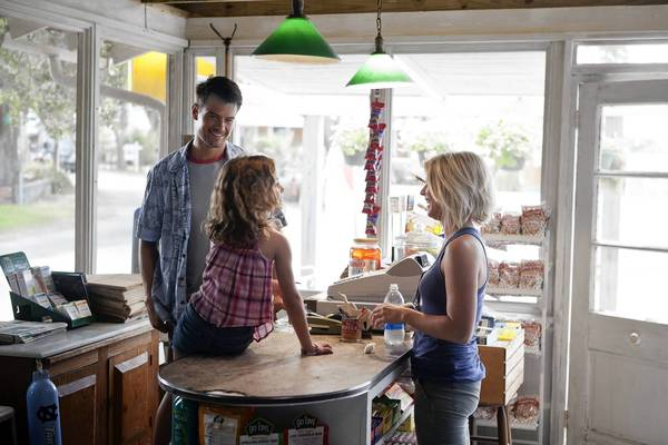 "Josh Duhamel, Mimi Kirkland and Julianne Hough star in ""Safe Haven."""