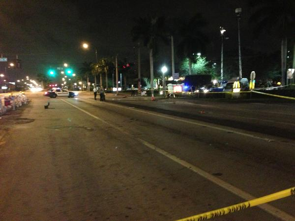 A six-year-old boy was struck and killed by a hit and run driver on Miramar Parkway