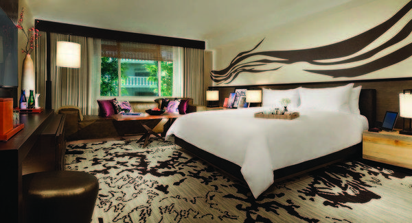 The Nobu Hotel at Caesars Palace, set to open Feb. 4, features elements of traditional and contemporary Japanese design.