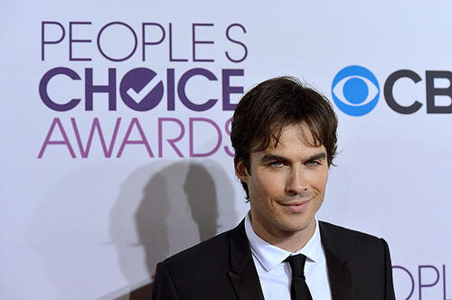 """The Vampire Diaries"" actor Ian Somerhalder"