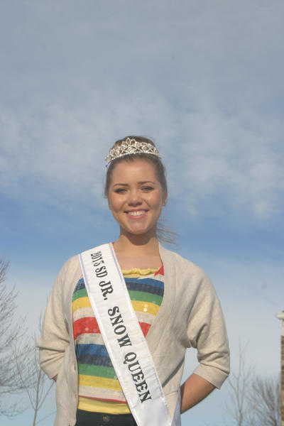 Im real excited for the opportunities that are coming, said Summer Lynn Bratland, the new South Dakota Junior Snow Queen.