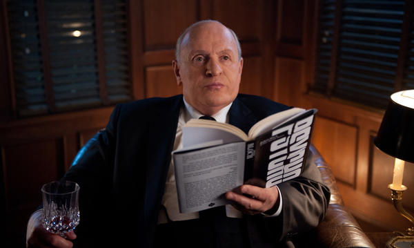 "Anthony Hopkins stars as Alfred Hitchcock in ""Hitchcock."""