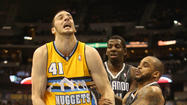 NBA: Orlando Magic at Denver Nuggets
