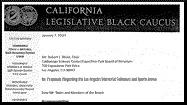 <b>LETTER:</b> Black caucus opposes parts of USC-Coliseum deal