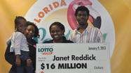 Miami TSA employee claims $16M Lotto win
