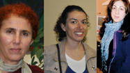 PARIS -- Three female Kurdish activists were found dead Thursday at an information center for Kurds in Paris, all of them shot in the head in what a French official described as execution-style killings.