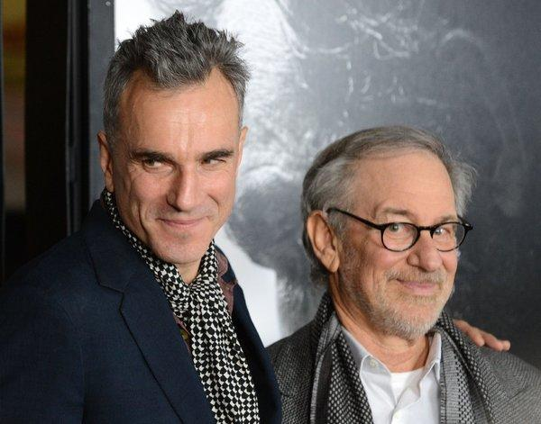 Daniel Day-Lewis and Steven Spielberg have something to smile about.