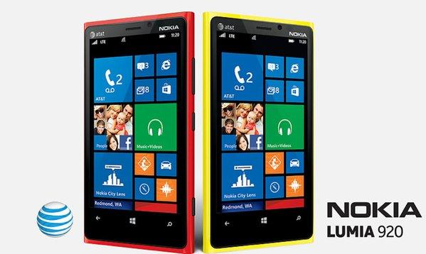 Nokia's line of Lumia smartphones, led by the flagship Lumia 920, had a better-than-expected fourth quarter.