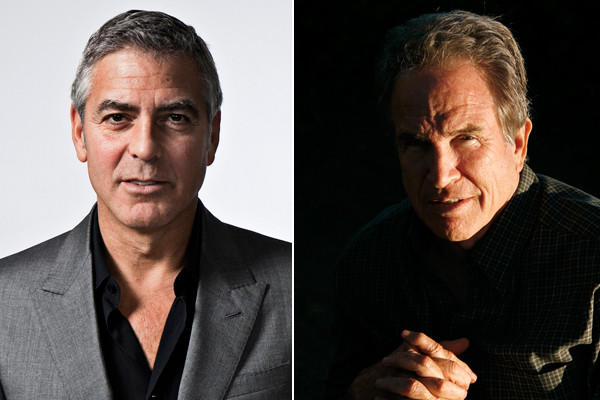 "Warren Beatty and George Clooney are now the only two people to have competitive nominations in the picture, director, screenplay and acting categories. (Clooney is a producer on best picture nominee ""Argo."")"