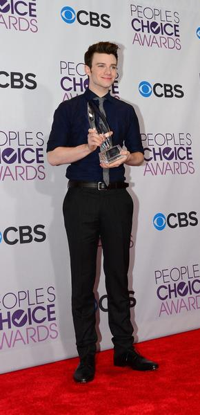 "Chris Colfer from ""Glee."""
