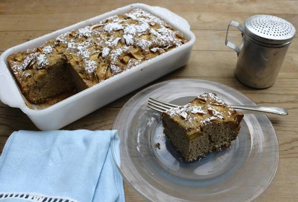 Mango coffee cake