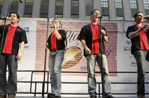"The original cast members of Broadway's ""Jersey Boys"" have their own ensemble, The Midtown Men. Christian Hoff, Michael Longoria, Daniel Reichard and J. Robert Spencer perform '60s hits from the Beatles and Beach Boys to Motown and more. <br><br><B> Why go: </b>It may not be ""Jersey Boys,"" but it's the same talent that carried the Tony-winning hit. <br><br><B> Reconsider:</b> You're not convinced we need to keep the music from the '60s alive. <br><br><B> 8 p.m. Friday at Rialto Square Theatre, 102 N. Chicago St., Joliet; $28-$65; 800-745-3000, ticketmaster.com</b>"
