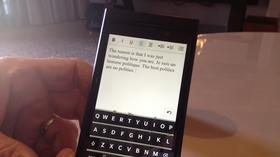 Hands-on demo with new BlackBerry 10 touchscreen phone at CES 2013