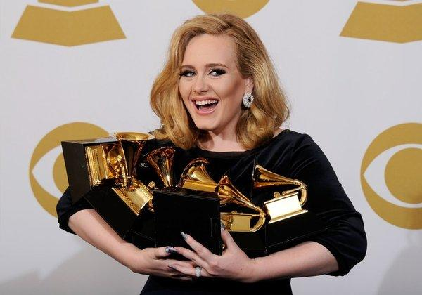 "Multiple Grammy winner Adele was nominated for an Academy Award on Thursday morning for her original song ""Skyfall."""